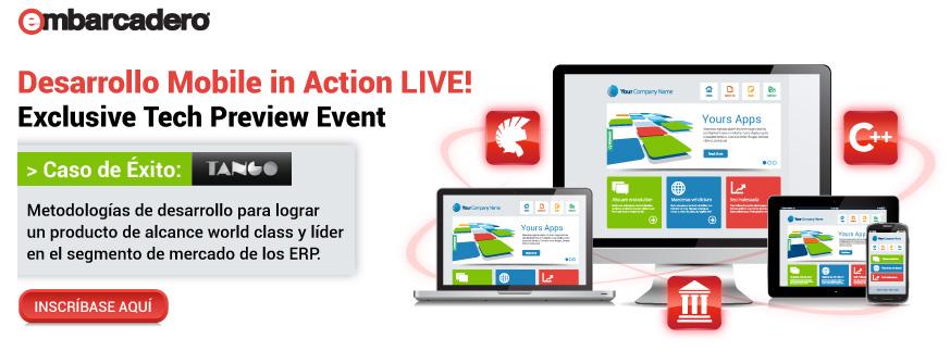 Desarrollo Mobile in Action Live!